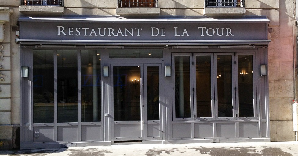Devanture Restaurant Paris Ty Braz