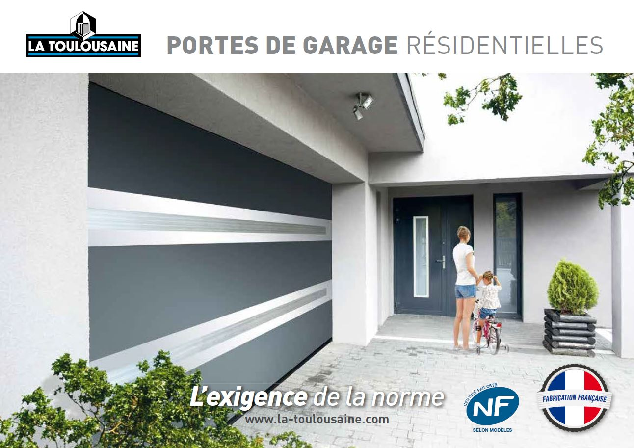 Catalogue la toulousaine portes de garage r sidentielles for Porte de garage la toulousaine villa