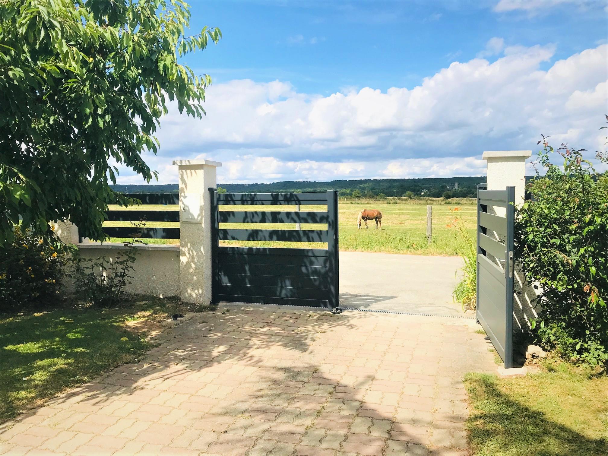 Portail clôture Ty Braz