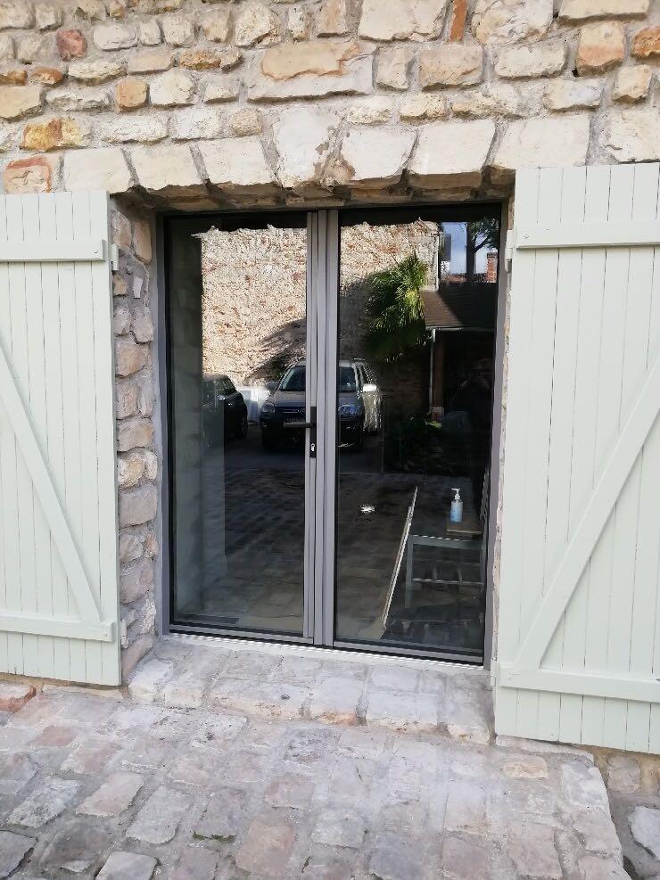 porte-fenêtre aluminium k-line